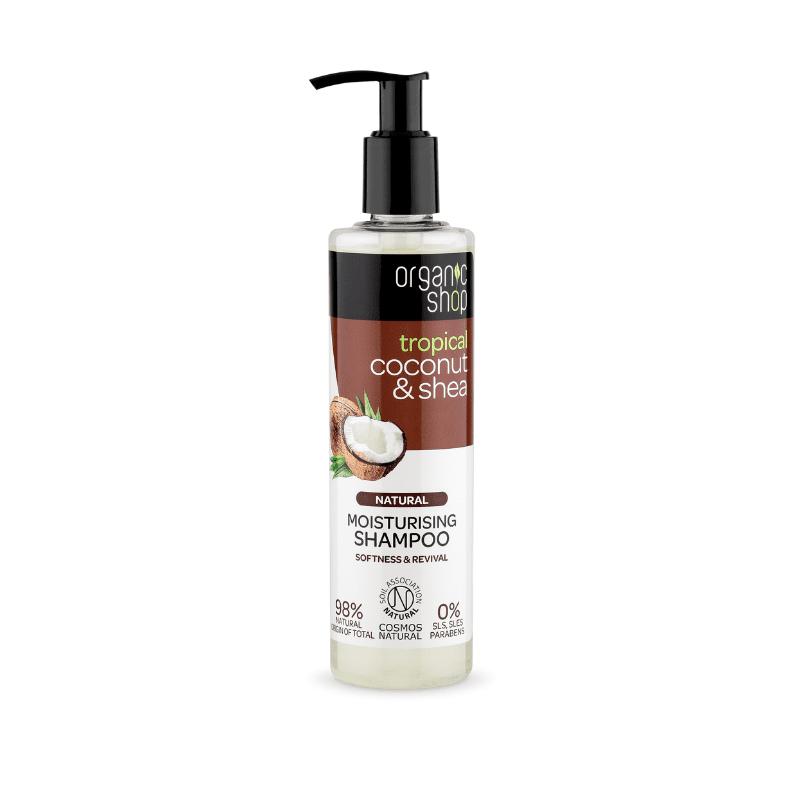 Organic Shop Coconut & Shea Kosteuttava Shampoo