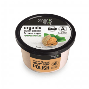 Organic Shop Sweet Almond - Ravitseva Vartalonkuorinta