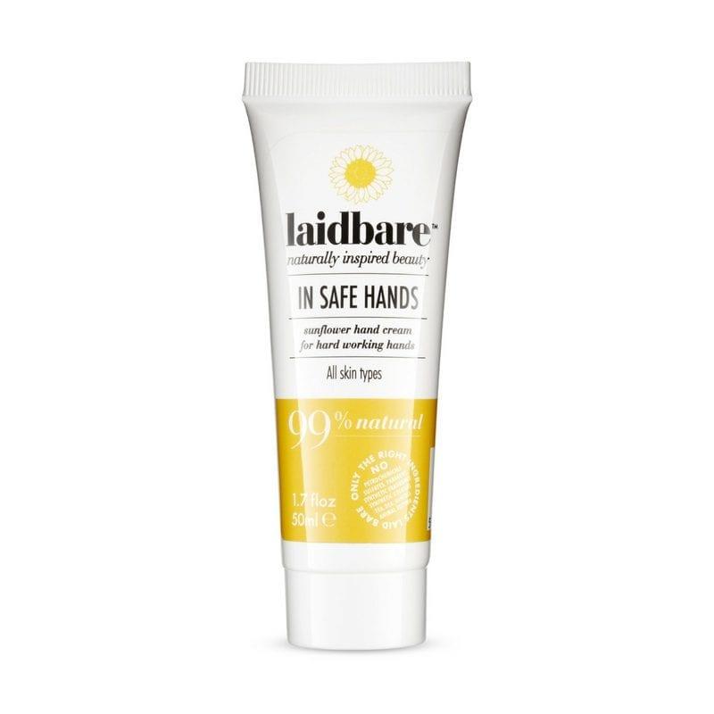 Laidbare In Safe Hands Sunflower Hand Cream - Ravitseva Voide Kuiville Käsille ja Jaloille
