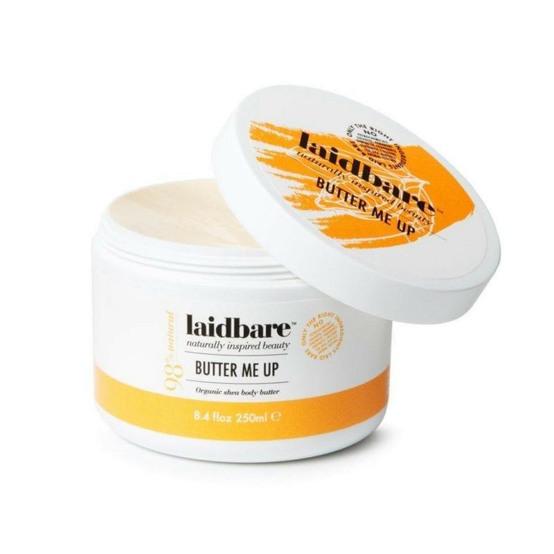 Laidbare Butter Me Up Organic Shea Body Butter - Ravitseva Kosteusvoide Vartalolle