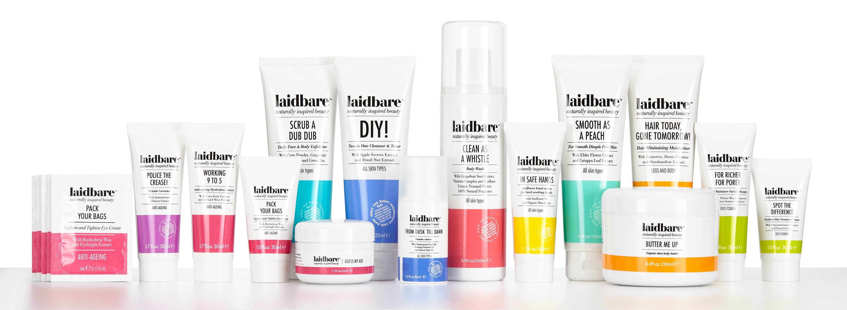 Laidbare - Naturally Inspired Beauty