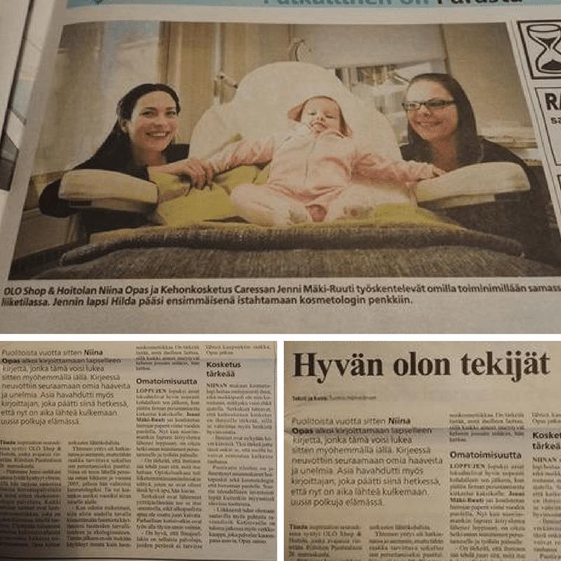 Ilmajoki -lehti: Uusi ekokauneushoitola avattu Ilmajoelle
