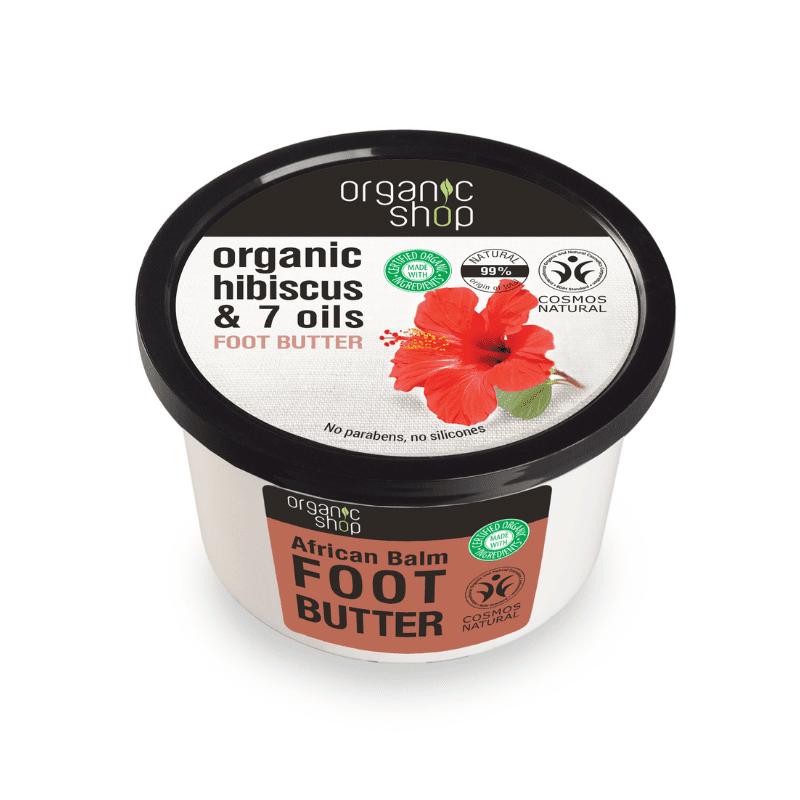 Organic Shop African Balm Täyteläinen Jalkavoide