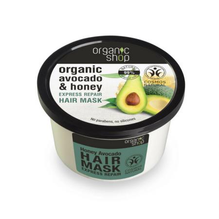 Organic Shop Avokado Korjaava Hiusnaamio